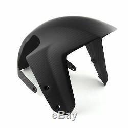 100% Carbone Garde Boue Avant KTM 1290 Super Duke 2013+ Mat
