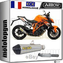 Arrow Kit Pot Echappement Approuve X-kone C Ktm 1290 Superduke R 2014 14