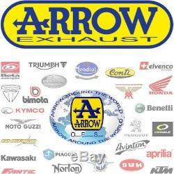 Arrow Kit Pot Echappement Cat Gp2 Nichrom Noir Ktm 1290 Superduke R 2017 17