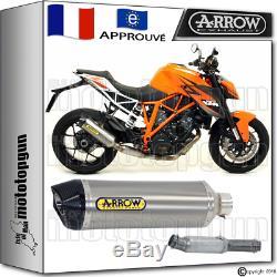 Arrow Kit Silencieux Racetech Titane Carby Cup Hom Ktm 1290 Superduke-r 2015 15
