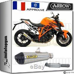 Arrow Kit Silencieux X-cone Carby Cup Hom Ktm 1290 Superduke-r 2014 14 2015 15