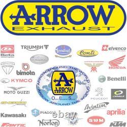 Arrow Pot Echappement Approuve Gp2 Nichrom Noir Ktm 1290 Superduke Gt 2017 17