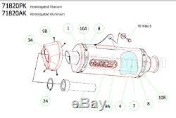 Arrow Pot Echappement Approuve Race-tech C Ktm 1290 Superduke R 2016 16
