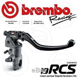 BREMBO RACING 110A26310 POMPE FREIN 19RCS 19x18-20 KTM 1290 SUPER DUKE GT 2017