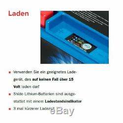 Batterie 12V 4,5AH(11,2AH) YTZ14S LiOn Shido KTM 990 Super Duke R LC8 EF
