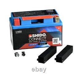 Batterie 12V 5AH(14AH) YTZ14 LiOn Shido-CONNECT pour KTM 1290 Super Duke GT ABS