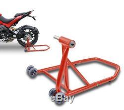 Béquille d'atelier arrière ConStands KTM 1290 Super Duke/R 14-19 rouge leve moto