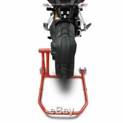 Béquille d'atelier arrière KTM 1290 Super Duke GT 16-19 rouge lève de stand