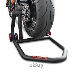 Béquille d'atelier arrière One KTM 1290 Super Duke GT 16-19 noir monobras
