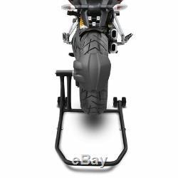 Béquille d'atelier moto arrière KTM 1290 Super Duke/ R 14-19 noir mat monobras