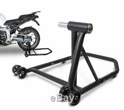 Béquille d'atelier moto arrière KTM 1290 Super Duke/ R 14-20 noir mat stand