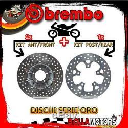 Brdisc-4111 Kit Disques De Frein Brembo Ktm Super Duke Se Abs 2016- 1290cc Avan