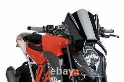 Bulle Puig Naked Sport Ktm 1290 Superduke R 2015 Noir