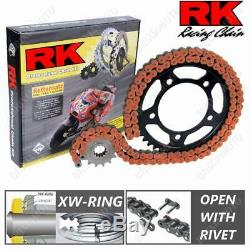 Chaîne RK 525GXW Pignon 17 Engrenage 38 Orr KTM 1290 Super Duke R 2014-2018