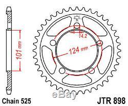 Couronne Kit chaine Hyper renforcé KTM SUPERDUKE 990 ROADSTER, 2005 2011