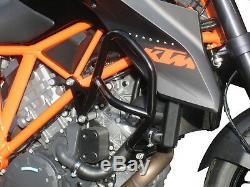 Crash Bars Pare carters Heed KTM 1290 SUPER DUKE R (2014 2016) noir
