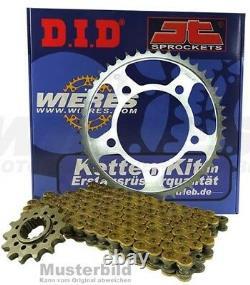 DID Acier Chaînes Kit Chaîne Top 16/44 Pour KTM LC8 990 Super Duke Bj. 05 13