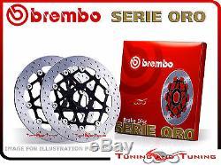 Disques de frein avant BREMBO SERIE ORO KTM SUPER DUKE R 1290 2014 14 (78B408B1)