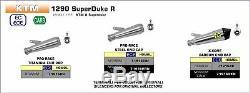 ÉCHAPPEMENT ARROW PRO-RACE POUR KTM 1290 SuperDuke R 2020 TITANE TITANE
