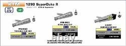 ÉCHAPPEMENT ARROW X-KONE POUR KTM 1290 SuperDuke R 2020 DARK CARBY