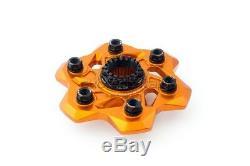 EVOTECH Kit Complet Bride Carter Support Plateau Orange KTM 1290 Superduke Gt
