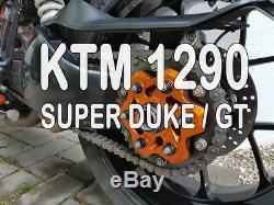 EVOTECH Plateau Transporteur pour KTM 1290 Sdr Super Duke R, Gt en Orange