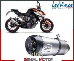 Echappement Leovince FACTORY S INOX Racing KTM 1290 SUPER DUKE R 2014 2016