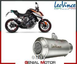 Echappement Leovince LV-10 INOX Racing KTM 1290 SUPER DUKE R 2014 2016