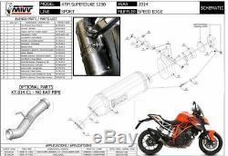 Echappement MIVV Speed Edge Ktm 1290 Super Duke Gt 2016-2019