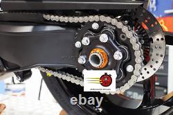 Écrou Roue Arrière et Écrou Porte Couronne EVOTECH p. KTM R Superduke 1290 R GT