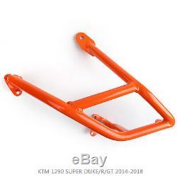 Étrier de protectio inférieur CrashBar Pour KTM 1290 SUPER DUKE/R/GT 14-17 Or BM