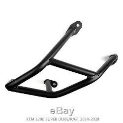Étrier de protection inférieur CrashBar Pour KTM 1290 SUPER DUKE/GT 14-18 BLK FR