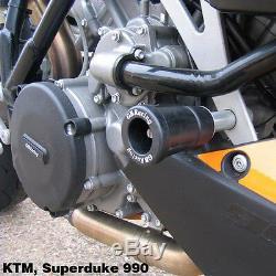 Gbracing KTM SUPER DUKE 950 990 COUVERCLE DE MOTEUR JEU des engins Protecteurs