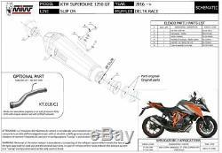 KTM 1290 SUPERDUKE GT 2018 MIVV Pot échappement DELTA RACE Homologué