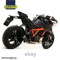 KTM 1290 SUPERDUKE R 2020 Pot échappement ARROW PRO-RACE Nichrom Noir
