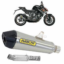 KTM 1290 SUPERDUKE R Pot échappement ARROW X-KONE Nichrom Homologué CC Kat 20