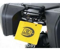KTM 1290 SUPER DUKE GT-16/20 SUPPORT DE PLAQUE R&G Racing- LP0202BK
