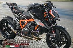 KTM 1290 SuperDuke R 20-21 Luimoto R-Cafe Suede & Tec-Grip Housses de Selle Set