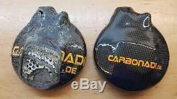 KTM 1290 Super Duke R 2x Carter D'em Brayage Carbone Couvre-Bouchon de Lima