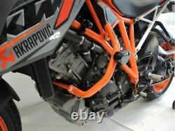 KTM 1290 Super Duke R Pare-Chocs Orange 2014 + Protection Moteur Cadre de Chrash