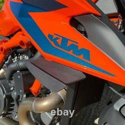 KTM 1290 Superduke R 20 Puig Noir Mat Appuis Ailerons Course Ailes 31900M