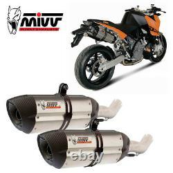 KTM 990 SUPERDUKE 2011 MIVV Pot échappement SUONO Homologué