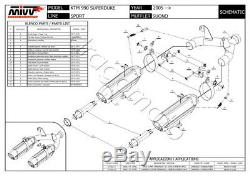 KTM 990 Superduke 2006 06 MIVV Pot Echappement Suono