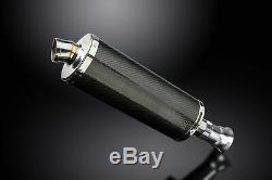 KTM SUPERDUKE 1290 2014-2018 Echappement Silencieux 350mm Ovale Carbone