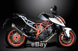 KTM SUPERDUKE 1290 2014-2018 Echappement Silencieux 350mm Rond Carbone