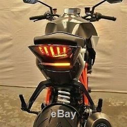 KTM Superduke 1290 Fender Eliminator New Rage Cycles Léger Nrc LED Course Motogp