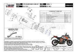 Kit Silencieux Decat Hom Gp-pro Kt. 018. L6p MIVV Ktm 1290 Superduke Gt 2017 17