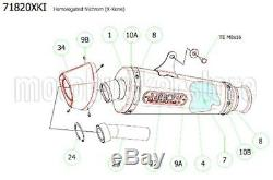 Kit Silencieux Homologue Decatalyse 71820xki Arrow Ktm 1290 Superduke R 2018 18