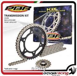 Kit chaine et couronne + pignon PBR EK KTM 990 SUPERDUKE R (520) 20082009