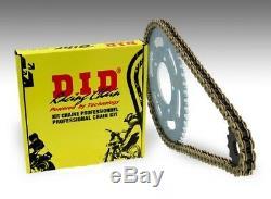 Kit chaine transmission DID KTM 990 SUPER DUKE 2005 2012 16/38 moto